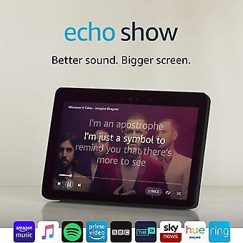 Echo show (2ème génération) 'Äì rester en contact avec l'aide de alexa 'Äì spectacle d'écho noir