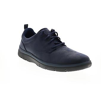 Clarks Tunsil Lane Herren Blau synthetische Lifestyle Sneakers Schuhe