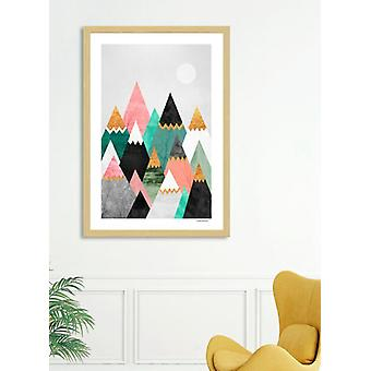Pretty Mountains Frame