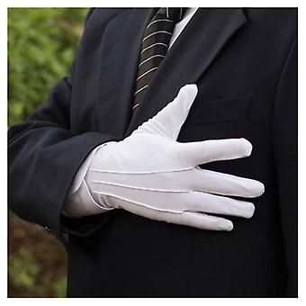 Unisex Gloves Magician Honor Guard Hands Protector Full Finger Formal Tuxedo