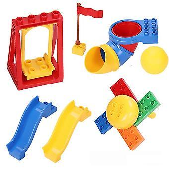 Bloquea Juguete animal infantil, Modelo de simulación Accesorios de bloques de construcción