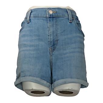 ليفي & apos;ق المرأة & apos;s السراويل الكلاسيكية الرمز البريدي الجبهة الأزرق جيب