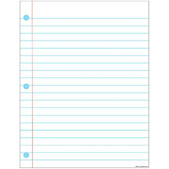 "Smart Poly Notebook Page Chart, Dry-Erase Surface, 17"" X 22"""