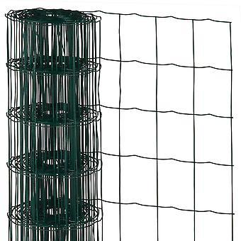 Natur MeshTråd Rektangulär 0,6x10 m Plastbelagt stål