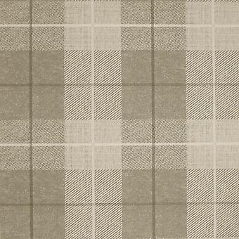 Country Tartan Wallpaper Taupe Arthouse 294903