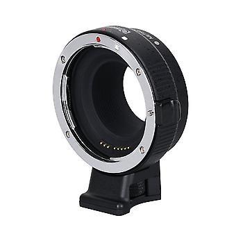 Commlite cm-ef-eos m électronique auto-focus lentille montage adaptateur-canon ef/ef-s d/slr lentille à canon eos