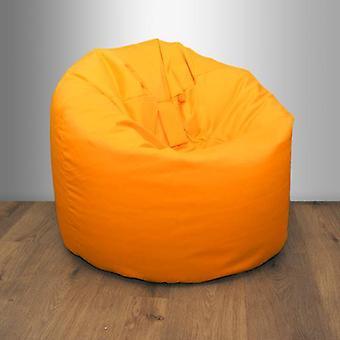 Yellow Garden Beanbag Chair Outdoor Indoor Water Resistant Bean bag Lounger Gaming Seat