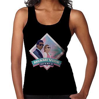 Miami Vice Lets Hit It Women's Vest