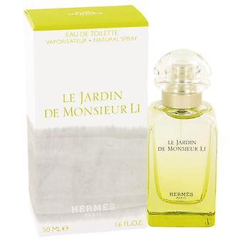 Le Jardin De Monsieur Li Eau De Toilette Spray (unisex) Hermes 1.6 oz Eau De Toilette Spray