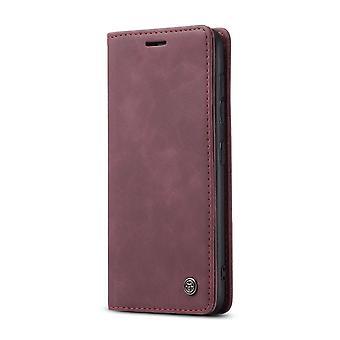 CASEME Wallet Case Samsung Galaxy S21+ (Plus) - Burgundy