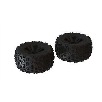 Arrma Z-ARA550059 dBoots Copperhead2 MT Tire Set Black - Pair