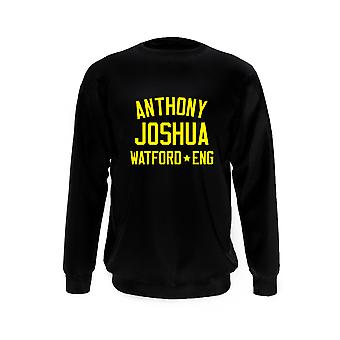 Anthony Joshua Boxing Legend Sweatshirt