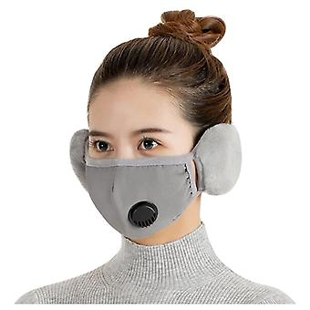 Winter Warm Earmuffs, Two-in-one, Face Ear Cover