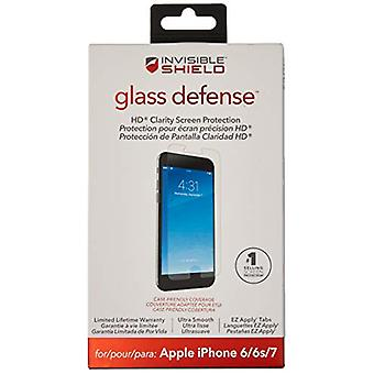 ZAGG InvisibleShield Glass Defense - Screen Protector for Apple iPhone 7, iPhone 6s, iPhone 6