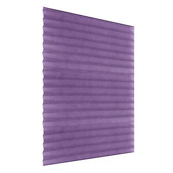 Self-adhesive Pleated Blinds Half Blackout Bathroom Windows