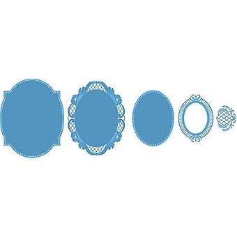 Marianne Design Creatables Cutting Dies - Anja's Oval LR0376