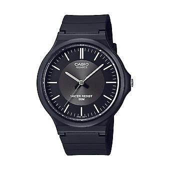 Men's Watch Casio Mw-240-1e3vef - Black R sine Bracelet