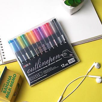 Metallic Marker, Outline Pen