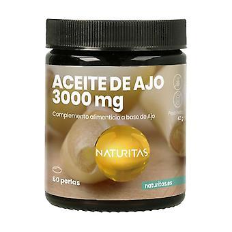 Garlic Oil 3000 mg 60 softgels