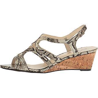 Annie Women's Aspen Espadrille Wedge Sandal