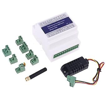 Gsm 3g 4g temperature humidity power status monitoring relay t200 sms alarm