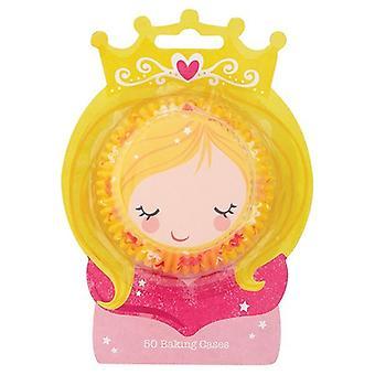Princess Baking Cases - Pack de 50 - single