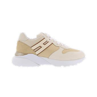 Hogan Active One H Can.Lunga Beige HXW3850BF50P9F0RAF chaussure