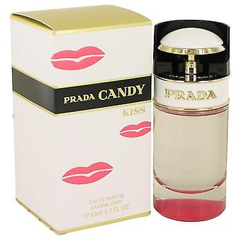 Prada Candy Kiss Eau De Parfum Spray By Prada 1.7 oz Eau De Parfum Spray