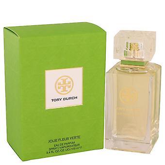 Tory Burch Jolie Fleur Verte Eau De Parfum Spray av Tory Burch 3,4 oz Eau De Parfum Spray
