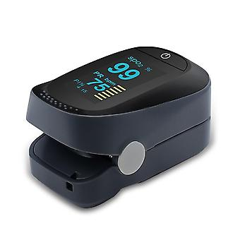 H2 Digital Finger Oled Pulse Oximeter Health Diagnostic Monitor Tool