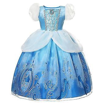 Princess Dress, Elsa Anna Dress Costumes Kid Party Dresses Clothes