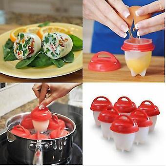 Silikon egg kjele kopper - pakke med 6