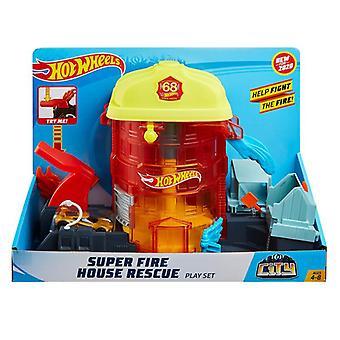 Hot wheels city super set 1 fourni