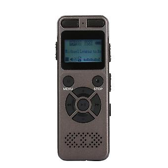 16Gb voice recorder usb business portable digital audio recorder with mp3 player support multi-language tf card