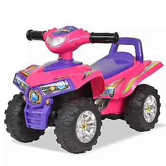 Kinder Ride-on ATV mit Sound und Light Pink Und Lila