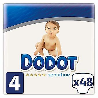 Dodot Sensitive Pañal Talla 4 48 uds