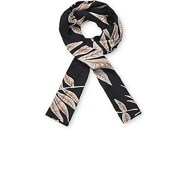 Masai Clothing Along Leaf Print Scarf