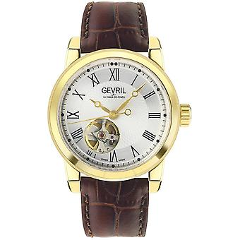 Gevril Madison Automatic Silver Dial Men's Watch 2584
