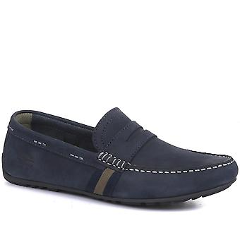 Barbour Mens Moss Leather Driving Shoes
