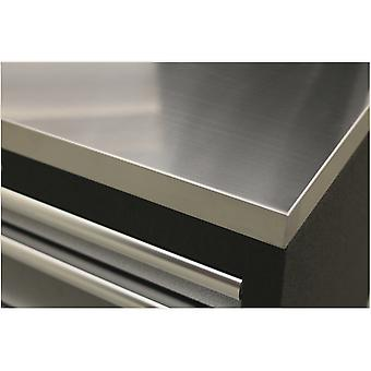 سالي Apms50Ssa الفولاذ المقاوم للصدأ سطح العمل 680 ملم