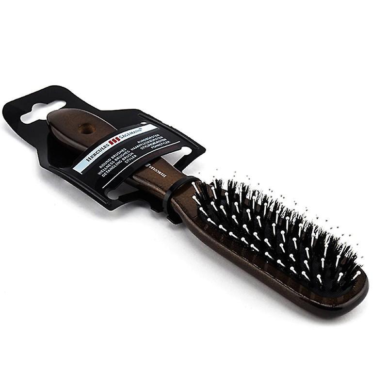 Hercules Sagemann Boar Hair Brush With Pins Medium