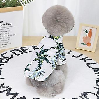 Hawaiiaanse kokosnoot shirt zomer huisdier kleding