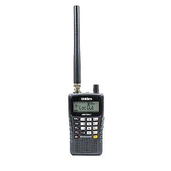 Uniden UBC75XLT draagbare scanner, 300CH, 25-88 MHz, 108-174 MHz, 400-512MHz met antenne en 2 x 2300 mAh batterijen inbegrepen