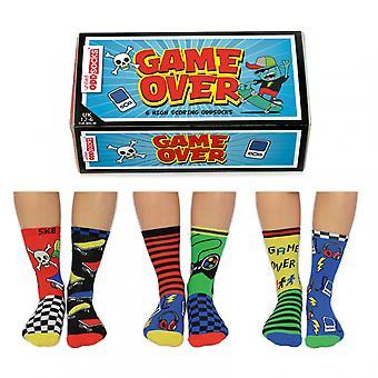 United Oddsocks Game Over Socks