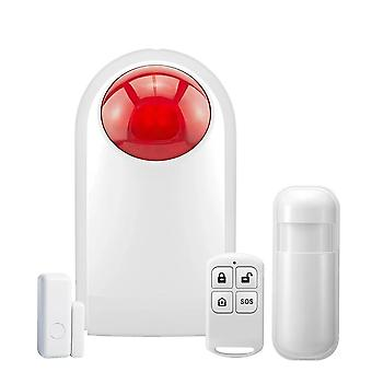 Security Alarm System Connect With Remote Control