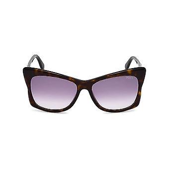 Emilio Pucci - Accessories - Sunglasses - EP0050-52Z - Women - saddlebrown