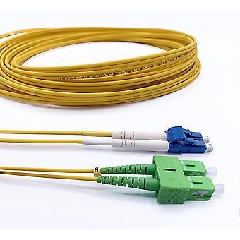 FengChun Glasfaserkabel LC/UPC auf SC/APC Singlemode Duplex 9/125μm OS2, 1M