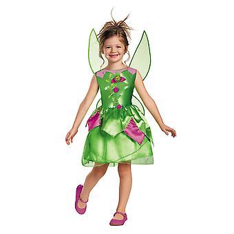Tinker Bell campanita hadas clásico de cuento de hadas de Disney niñas traje
