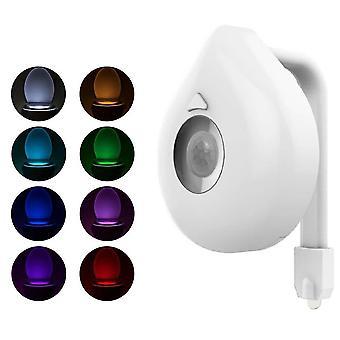 Pir Siège toilette 8 Couleur Rgb Étanche Led Éclairage Wc Lampes décoratives
