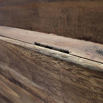 vidaXL Sitzbank Altholz Massiv 86 x 40 x 60 cm